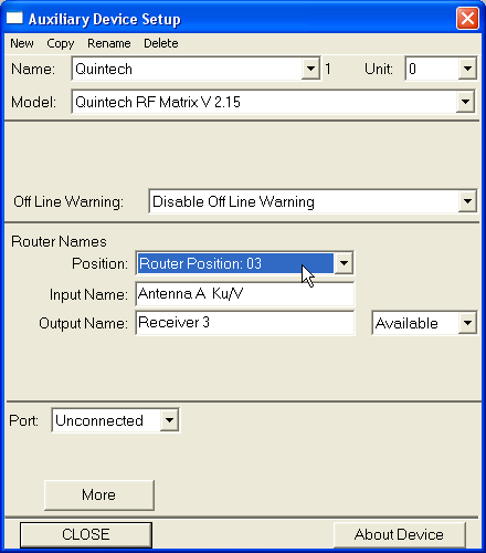 L-Band Configuiration